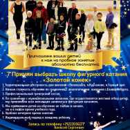 Школа фигурного катания «Золотой конек»